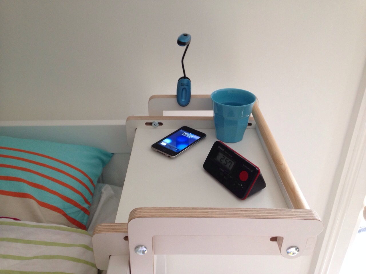 Adjustable Bunk Bed Shelf
